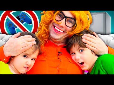 Наша НОВАЯ НЯНЯ Такого Мы НЕ ОЖИДАЛИ Веселая история для детей funny playtime