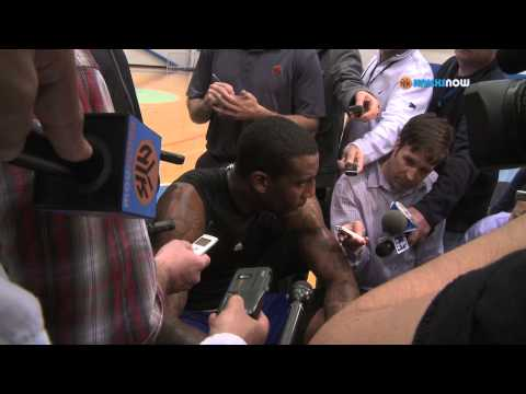 stoudemire - New York Knicks Amare Stoudemire speaks to the media following to todays practice. Stoudemire talks about his possible return for Game 3 against the Indiana ...
