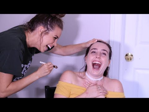 My Sister Does My Makeup Challenge - PART II