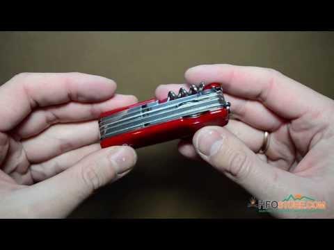 Відеоогляд складного, багатопредметного ножа Ego Tools A01.12, red