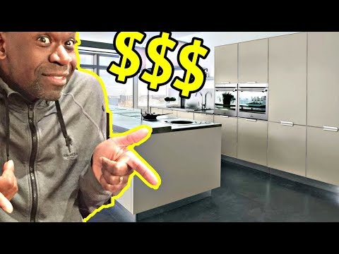 DESIGNING OUR DREAM KITCHEN (BUYING A $27000 TABLE BREAKS THE BANK!!!) (видео)