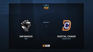Infamous vs Digital Chaos, Game 1, Dota Summit 7, AM Qualifier
