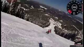 Pamporovo Bulgaria  city images : Ski Pamporovo Bulgaria march 2015-The wall - Garmin Virb Elite