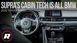 Tech Check: 2020 Toyota Supra's cabin tech is all BMW by Roadshow