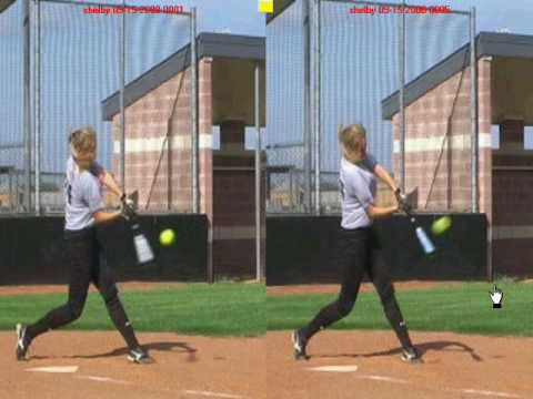 Fastpitch Hitting Instruction – Proper Shoulder Rotation