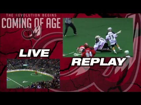 NLL: Colorado Mammoth goalie Alex Buque levels opponent with devastating open field hit