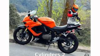 2. 2009 Hyosung GT 250 - Features, Specification
