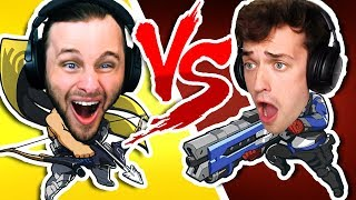 WHO IS THE BEST PEW PEWER   OVERWATCH One vs One