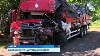Acidente mata motorista e Rodovia Rachid Rayes fica interditada no começo da manhã