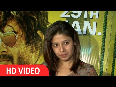 Sunidhi Chauhan At Special Screening Of Film Saala Khadoos