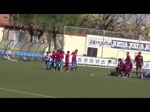 19º Jornada Atletico de Madrid B vs Escuela de Futbol de Brunete