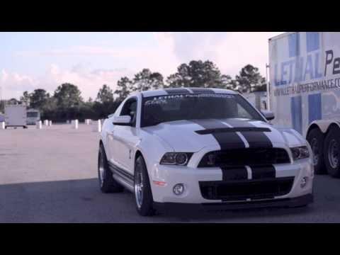 2013 GT500 goes 9.77@148.80 - Stock Suspension, Stock Gears, Full Weight!!!