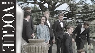On Set With The Cast Of The Riot Club  The Posh Test   All Access Vogue   British Vogue