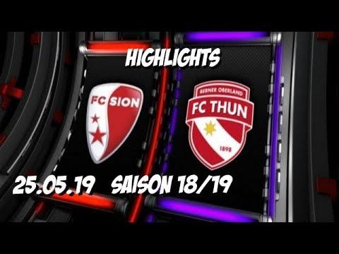 FC Sion 0-1 FC FC Thun