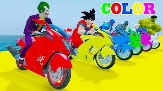FUN LEARN COLORS MOTOBIKE & Mini Race Cars w Superheroes And Spiderman Video 3D For KidsWelcome to Car And Friends Channel. Video Learn Color & Number For KidsThis Channel is about cartoon characters as Spiderman, Hulk, Elsa...with music as finger family, nursery rhymes For Children!Thank For Watch!Playlist :Collection Learn Numbers Video For Kids With Spiderman Cars  : https://www.youtube.com/watch?v=LGEMBndDVZs&list=PLeiK9SGD5dcyj_n1Hp0Z4Yx6mc3jPrnOjCollection Learn Colors For Kids With Spiderman Cars Cartoon :https://www.youtube.com/watch?v=LGEMBndDVZs&list=PLeiK9SGD5dczlFB53UXxxW4RDKgKE1vc-Learn Colors Cars with Spiderman Nursery Rhymes  : https://www.youtube.com/watch?v=LGEMBndDVZs&list=PLeiK9SGD5dcwwwtCHLWgk0Unc5DTjEhfbLearn Number Cars And Trucks W Spiderman Cars Cartoon : https://www.youtube.com/watch?v=LGEMBndDVZs&list=PLeiK9SGD5dcxCq5t6fbAHtUaPjIRqSMFy