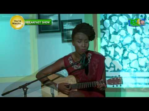 "Aramide performs ""I don't care"" on the #R2TVBreakfastShow"