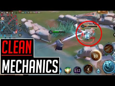 RYOMA CLEANEST MECHANICS EVER! | Ryoma Arcana and Build | Arena of Valor