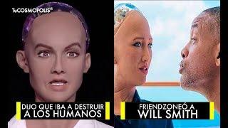 Video 31 COSAS de SOPHIA, LA ROBOT que ÂMÊNÂZÓ a la HUMANIDAD y BATEÓ a WILL SMITH MP3, 3GP, MP4, WEBM, AVI, FLV Februari 2019
