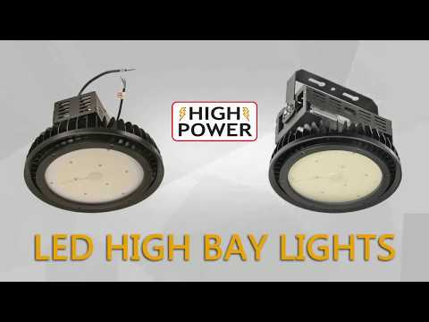 Led 100w High Lumen Low Profile High Bay Light Ul Dlc