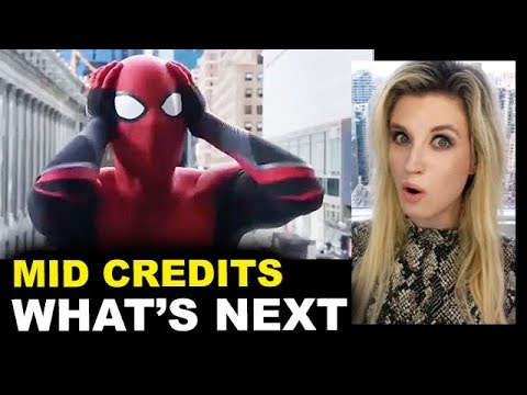 Spider-Man Far From Home Mid Credit Scene - Ending Explained