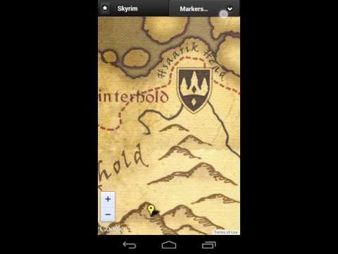 Video of Map for Skyrim