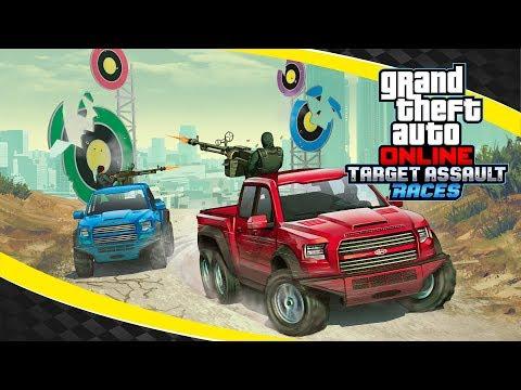 Новинка в GTA Online: гонки с мишенями