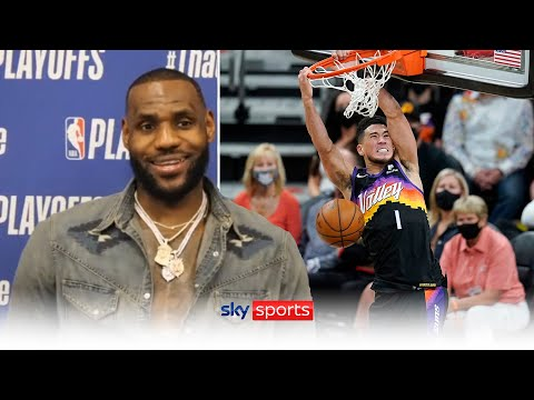 """""""I love everything about D-Book!""""   LeBron James praises Suns' star and reveals Olympics plan"""