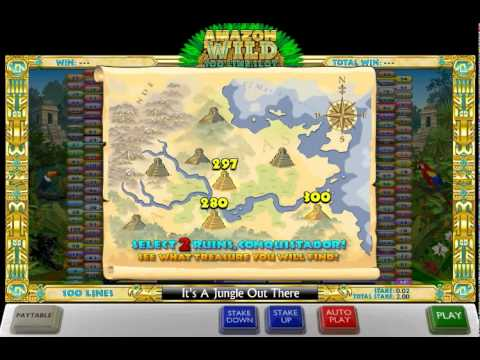 Amzon Wild™ Lost Temple Bonus Round (Ash Gaming®)