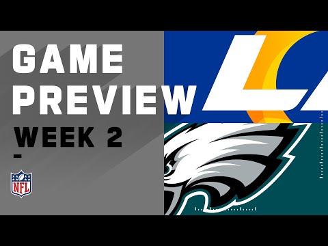 Los Angeles Rams vs. Philadelphia Eagles Week 2 NFL Game Preview