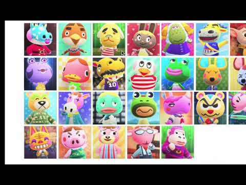 Carter and Eden... Rank Ugliest Animal Crossing: NH Villagers
