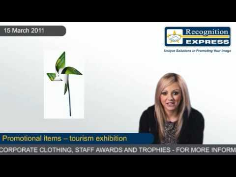 Promotional items — tourism exhibition