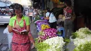Bangkok Flower Market : Wetourthailand.com