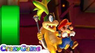 New Super Mario Bros U 100% Walkthrough #5 (All Collectibles, Secret Exit, 4K 60fps)