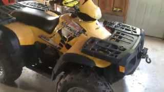 1. 2004 Polaris Sportsman 500 H.O walk around