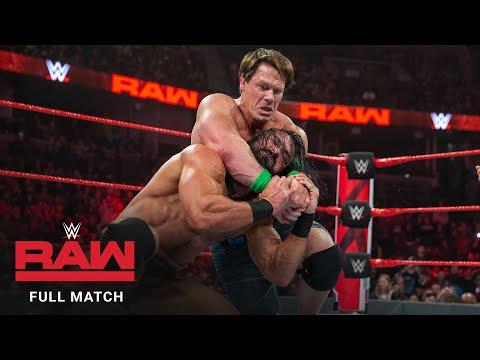 FULL MATCH - Finn Bálor vs. John Cena vs. Drew McIntyre vs. Baron Corbin: Raw, January 14, 2019