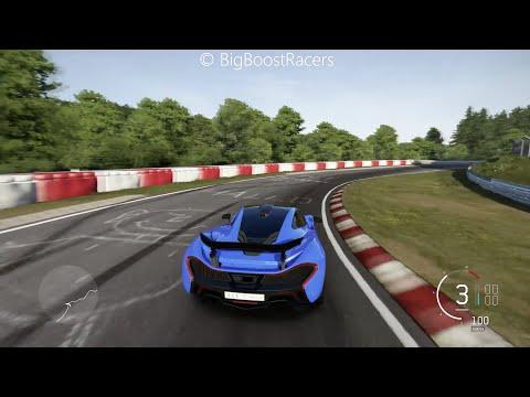 Forza Motorsport 6 McLaren P1 Nürburgring Nordschleife Gameplay