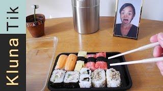 Kluna eating REAL FOOD?!? Kluna Tik Dinner #34 | ASMR eating sounds no talk