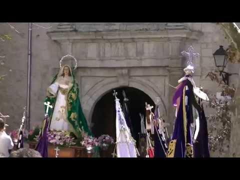 Domingo de Resurrecci�n - Mar�a Sant�sima del Amparo (Llegada San Andr�s) - Semana Santa Cuenca 2015