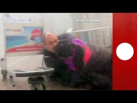 Attentat à l'aéroport Zaventem : les images après l'explosion – images violentes