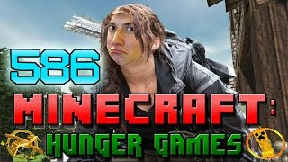 Minecraft: Hunger Games w/Mitch! Game 586 - Awesome Kills