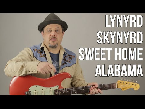 "How To Play ""Sweet Home Alabama"" On Guitar - Lynyrd Skynyrd Guitar Tutorial"