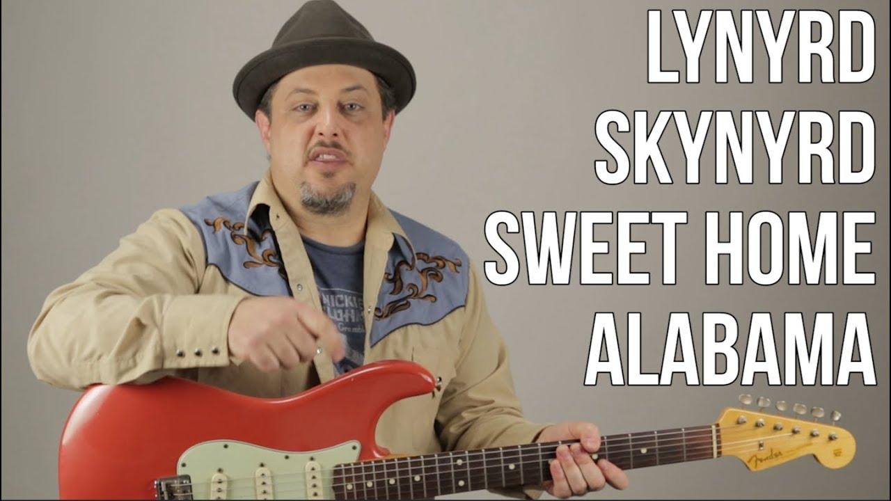 "How to Play ""Sweet Home Alabama"" on Guitar – Lynyrd Skynyrd Guitar Tutorial"