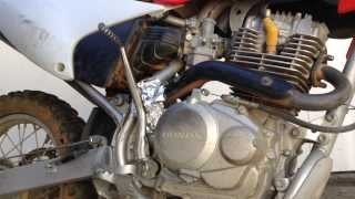 4. Honda CRF150F Oil Change