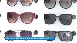 Médicos alertam para uso correto do óculos de sol para proteção dos olhos