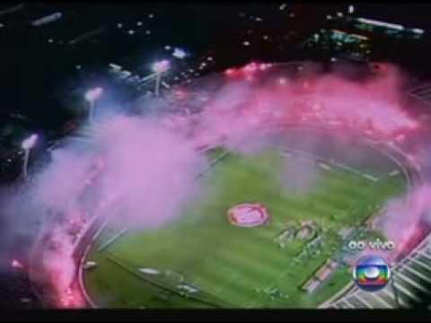 Recebimento histórico  INTER x Estudiantes - FINAL - Guarda Popular do Inter - Internacional