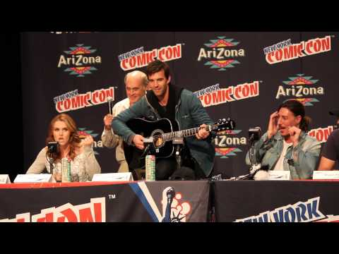 Haven - Lucas Bryant, Emily Rose and Eric Balfour sing about their experiences working on Haven.