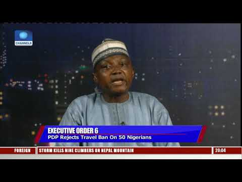 Travel Ban: We Have Not Released Any List Of Nigerians Affected-- Garba Shehu