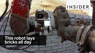 Robot murarski, który układa cegły 24 godziny na dobę!