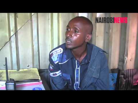 Drama as armed gangster is arrested along Lunga Lunga road
