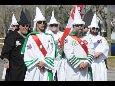 Ku Klux Klan Caught Recruiting In The Wrong Neighborhood